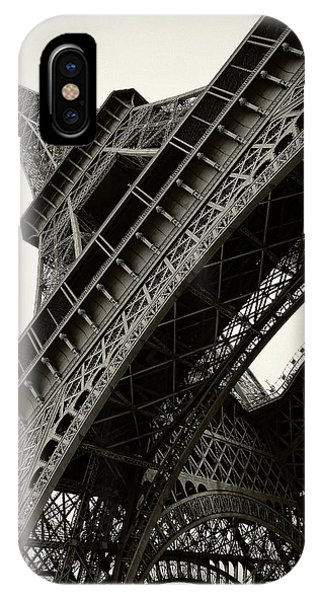 Tilted Eiffel IPhone Case