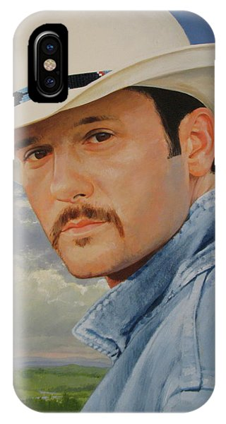 Tim Mcgraw IPhone Case