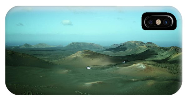 Canary iPhone Case - Timanfaya - Lanzarote by Cambion Art