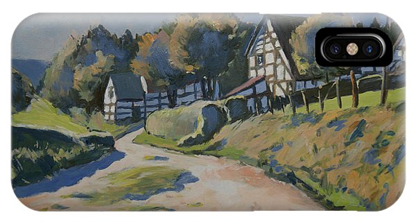 Timbered Houses In Terziet IPhone Case