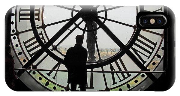 Paris iPhone Case - Time At The Musee D'orsay by Felipe Adan Lerma