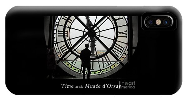 Time At The Musee D'orsay IPhone Case