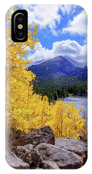 Boulder iPhone Case - Time by Chad Dutson