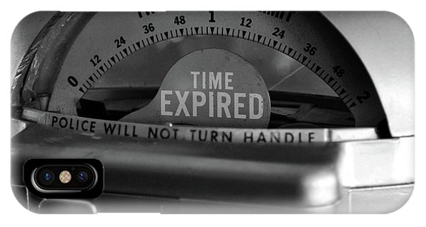 Time Expired IPhone Case