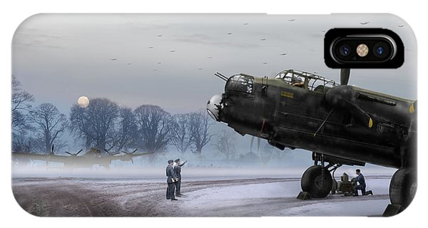 Time To Go - Lancasters On Dispersal IPhone Case
