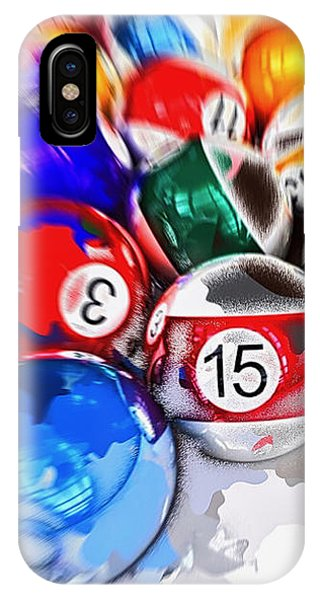 Time To Play Hard Ball White IPhone Case