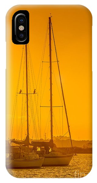 Regatta iPhone Case - Time To Sail by Marvin Spates
