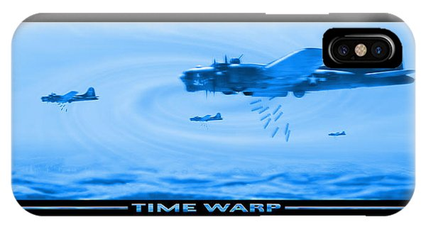 Bomber iPhone Case - Time Warp by Mike McGlothlen