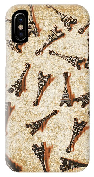 French iPhone X Case - Time Worn Trinkets From Vintage Paris by Jorgo Photography - Wall Art Gallery