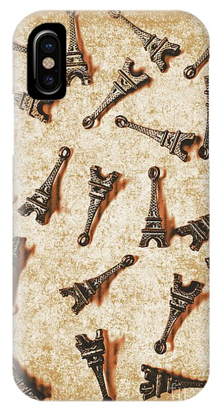 Metal iPhone Case - Time Worn Trinkets From Vintage Paris by Jorgo Photography - Wall Art Gallery
