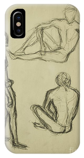 Timed Gestures Exercise IPhone Case