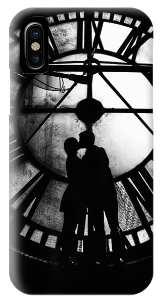 Timeless Love - Black And White IPhone Case