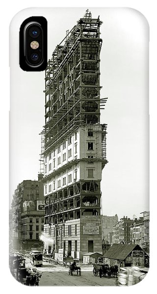 Times Square Under Construction IPhone Case
