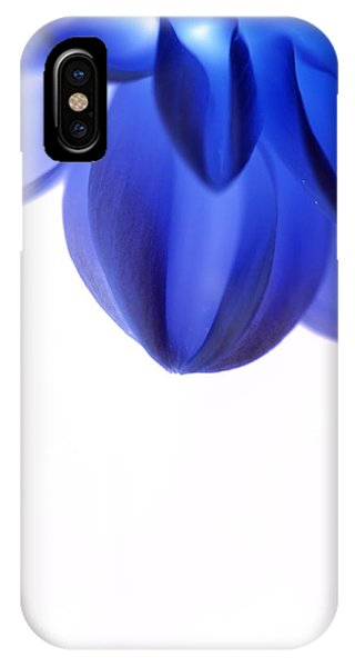 Timid In Blue IPhone Case