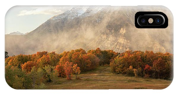 IPhone Case featuring the photograph Timpanogos Veil by Dustin LeFevre