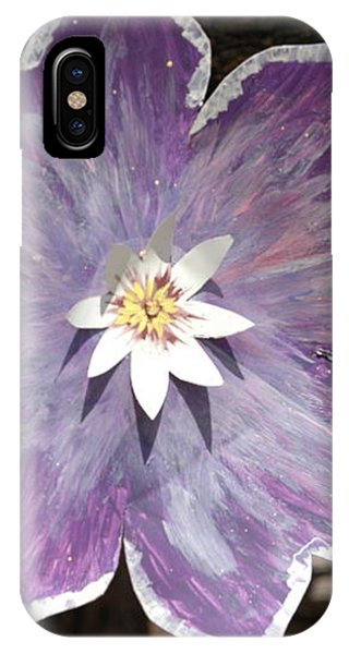 Tin Flower IPhone Case