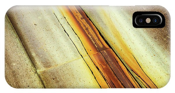 Tin Roof Abstract IPhone Case