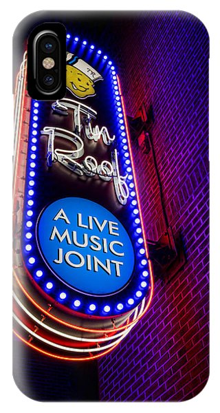 Mississippi River iPhone Case - Tin Roof Beale Street by Stephen Stookey
