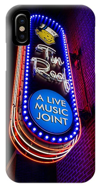 Tin Roof Beale Street IPhone Case