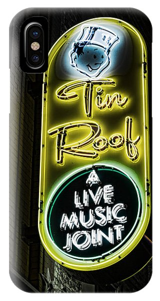 Ryman Auditorium iPhone Case - Tin Roof - Gritty by Stephen Stookey