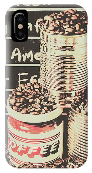 Scent iPhone Case - Tin Signs And Coffee Shops by Jorgo Photography - Wall Art Gallery