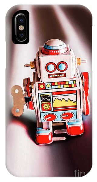 Nostalgia iPhone Case - Tin Toys From 1980 by Jorgo Photography - Wall Art Gallery