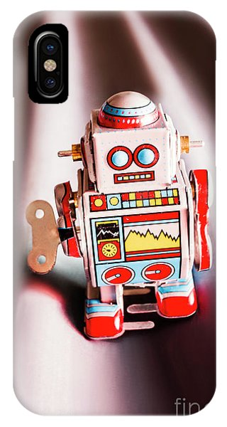Metal iPhone Case - Tin Toys From 1980 by Jorgo Photography - Wall Art Gallery