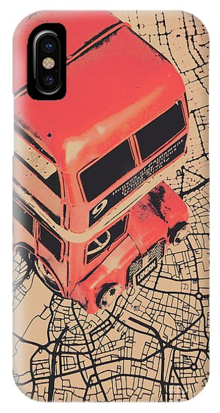 Greater London iPhone Case - Tin Travel Tour by Jorgo Photography - Wall Art Gallery