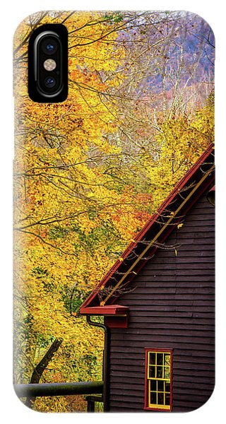 Tingler's Mill In Fall IPhone Case
