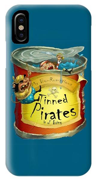 Tinned Pirates IPhone Case