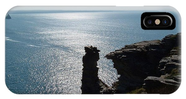 Tintagel Stack Cornwall IPhone Case