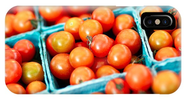 Cultivar iPhone Case - Tiny Little Red Tomatoes by Todd Klassy