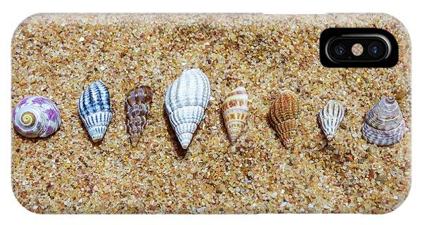 Tiny Seashells On The Sand IPhone Case