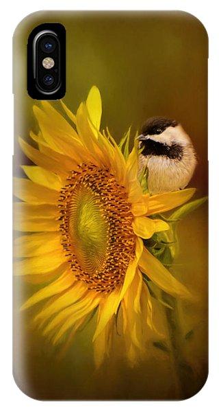 Tiny Surprise Bird Art IPhone Case