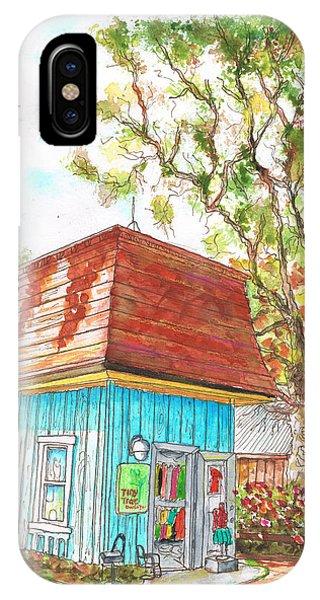 Tiny Tree Boutique In Los Olivos, California IPhone Case