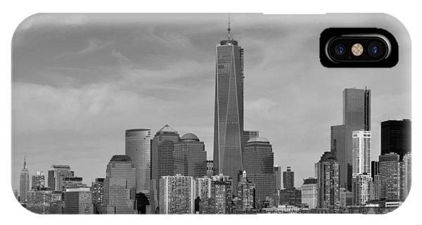 Tip Of Manhattan IPhone Case