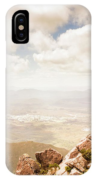 Achievement iPhone Case - Tip Of Mt Zeehan Tasmania  by Jorgo Photography - Wall Art Gallery