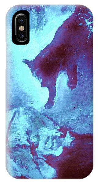 Tip Toeing On Little Cat Feet IPhone Case