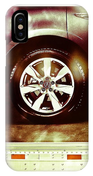 Tire Under The Moonlight Color IPhone Case