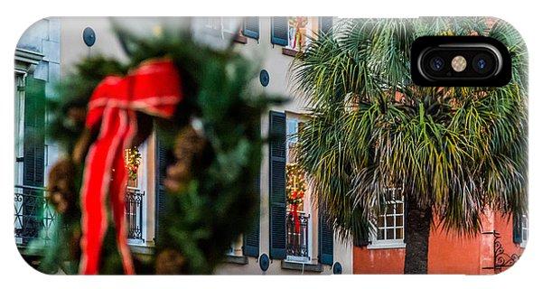 Tis The Season - Charleston Sc IPhone Case