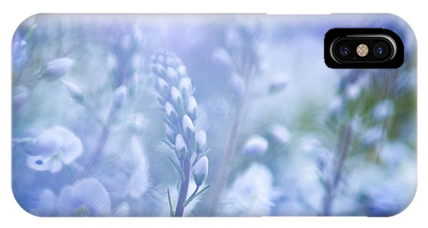 Tissington White Abstract IPhone Case