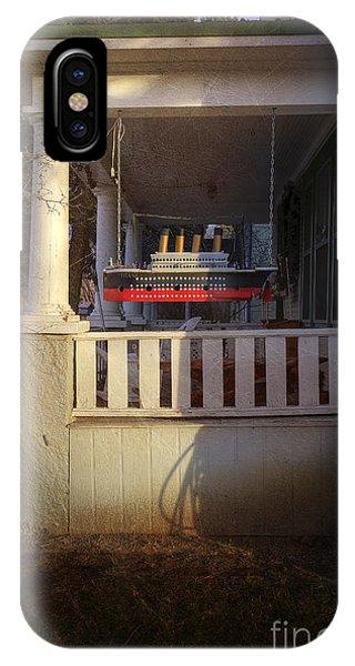 Titanic Porch IPhone Case