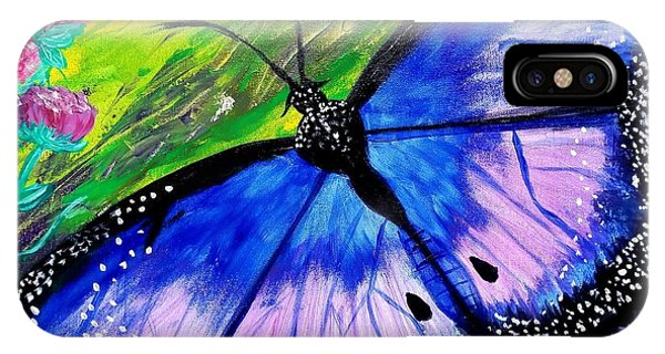 Titanium Butterfly IPhone Case