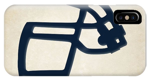 Sports iPhone Case - Titans Face Mask by Joe Hamilton