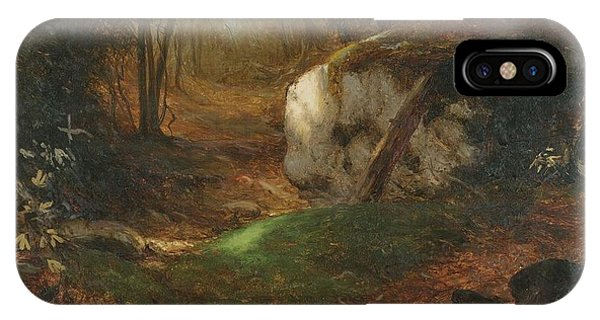 Jervis iPhone Case - Title Mossy Bank by MotionAge Designs