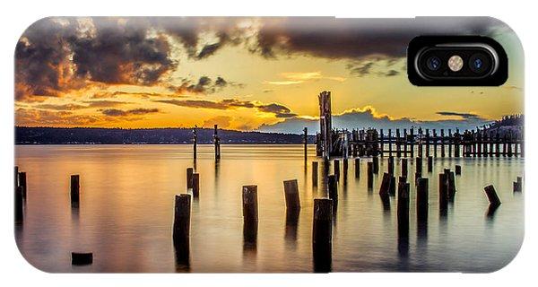 Titlow Beach Sunset IPhone Case
