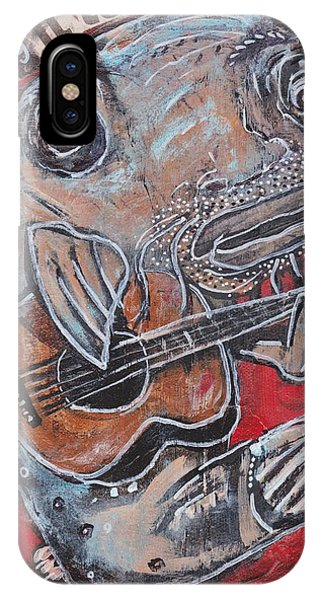 Blues Cat IPhone Case