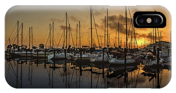 Titusville Marina IPhone Case