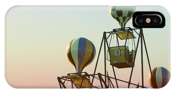 Tivoli Balloon Ride IPhone Case