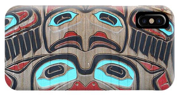 Tlingit Wall Panel IPhone Case